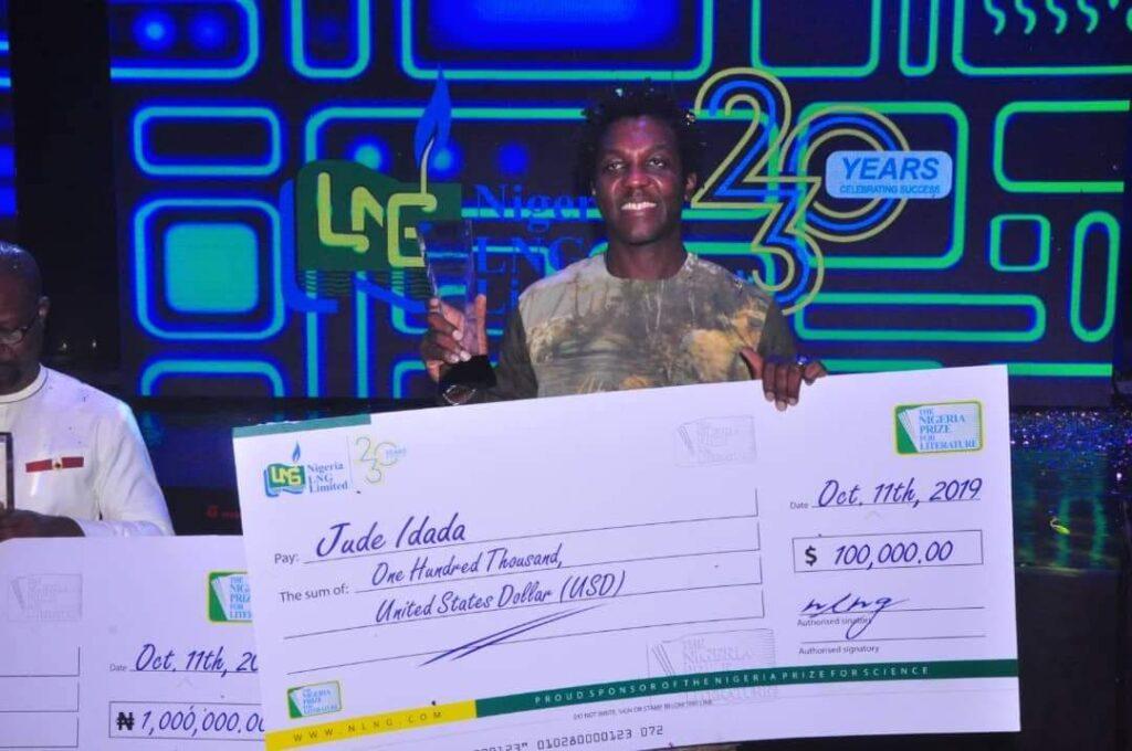Congratulations: Jude Idada wins NLNG 2019 Nigeria literature prize of $100,000