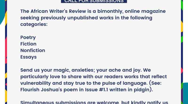 African Writers Review